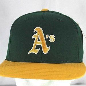 Oakland A's Green/Yellow Baseball Cap Snapback